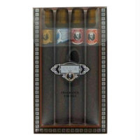 Fragluxe Gift Set -- Cuba Variety Set includes All Four 1.15 oz Sprays Cuba Red Cuba Blue Cuba Gold and Cuba Orange