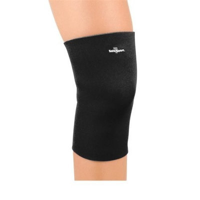 Fla Orthopedics Safe-T-Sport Neoprene Knee Sleeve - X-Small Closed Patella - Navy - 37-3741SNVY