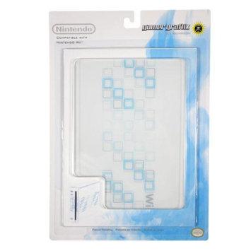 Nintendo Wii Gamer Graffix Blocks Block Skin White/Blue