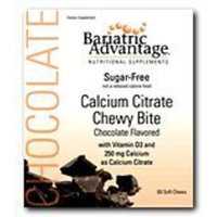 Bariatric Advantage Calcium Citrate Sugar Free Chewy Bite Chocolate (60 soft chews)