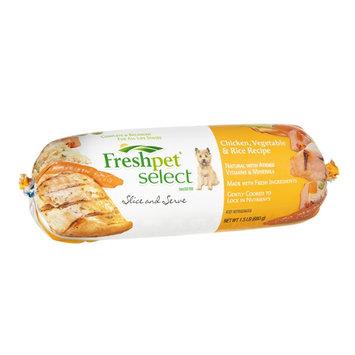Freshpet Select Chicken, Vegetable & Rice Recipe Slice and Serve Dog Food