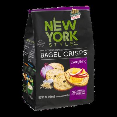 New York Style Bagel Crisps Everything