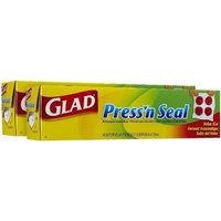 Glad Press'n Seal Food Wrap, 140 sq ft-2 pack