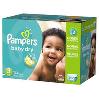 Pampers Baby Dry Diapers Giant Pack - Size 3 (144 Count)