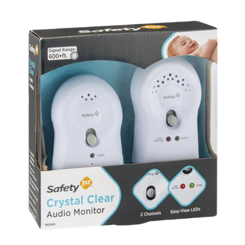 Safety 1st Audio Monitor Crystal Clear