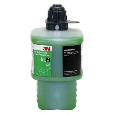 3M Quat Disinfecting Cleaner (Size 2L, Green). Model: 5L