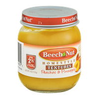 Beech-Nut® Homestyle Textures Stage 2 1/2 Peaches & Pineapples