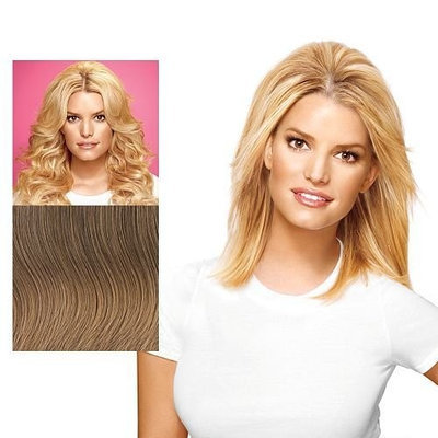 Mid-Length Bump Up The Volume Hair Extensions by Jessica Simpson hairdo - R1416T