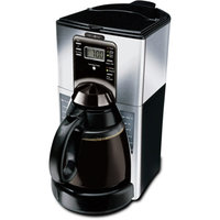Mr. Coffee FTX45-1FS 12-Cup Programmable Coffeemaker, Stainless Steel