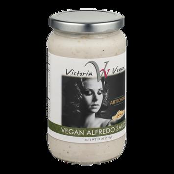 Victoria Vegan Alfredo Sauce Artichoke