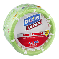 Dixie Ultra Built Strong Bowls - 52 CT