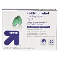 Up & Up Nighttime Cold/Flu Relief Softgel 20-pk.