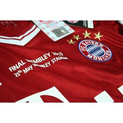 Final Wembley 2013 UCL Bayern Munich Home Soccer Jersey