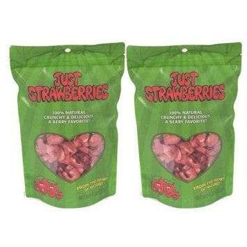 Just Tomatoes, Etc Just Tomatoes Just Strawberries, 4 Ounce Large Pouch