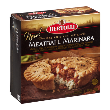 Bertolli® Italian Style Torta Meatball Marinara