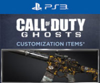 Activision Call of Duty Ghosts Molten Personalization Pack