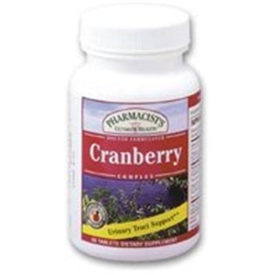 PHARMACISTS ULTIMATE HEALTH CORPORATION PUH Cranberry Complex Tablets, Dietary Supplement By PUH - 60 Tablets