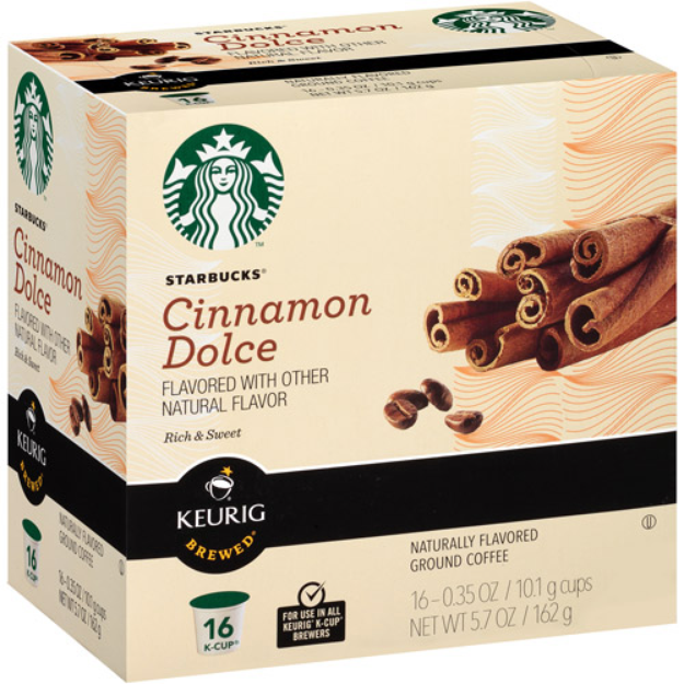 Starbucks Cinnamon Dolce K-Cup 16 ct