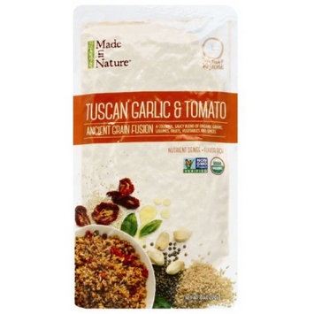 Made in Nature Tuscan Garlic & Tomato Ancient Grain Fusion, 8 oz, (Pack of 6)