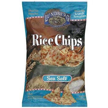 Lundberg Family Farms Sea Salt Rice Chips, 6 oz (Pack of 12)