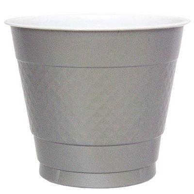 Hanna K Signature Hanna K. Signature 81880 9 Oz. Silver Plastic Cup - 600 Per Case