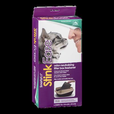 SmartyKat Stink Ease Odor-Neutralizing Litter Box Freshener - 6 CT