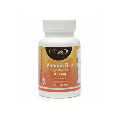True Fit Vitamins Vitamin B-6 Pyridoxine