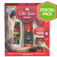 Old Spice Timber Gift Set, 3 pc
