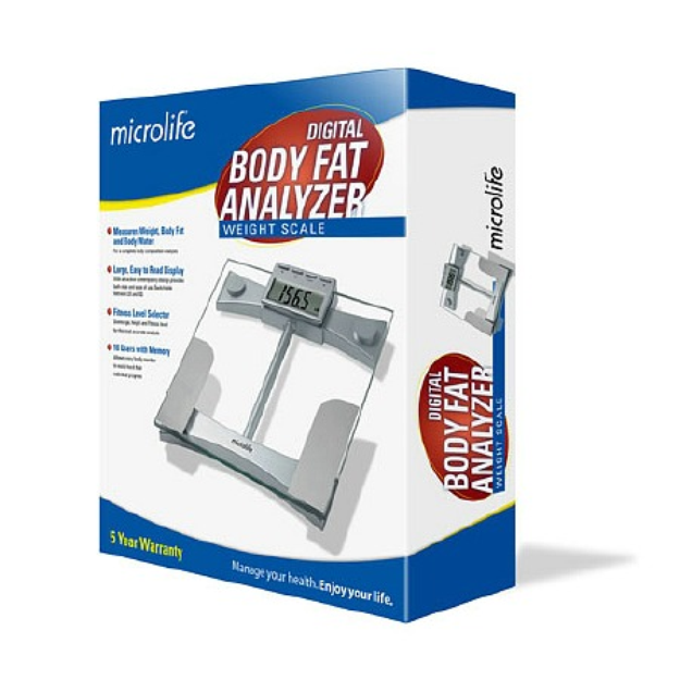 Microlife WS100 Digital Body Fat Analyzer Weight Scale