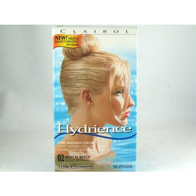 Clairol Hydrience Level 3 Permanent, 02 Light Blonde