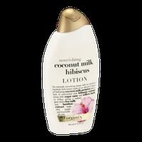 OGX® Nourishing Coconut Milk Hibiscus Lotion