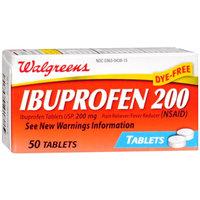 Walgreens Ibuprofen 200 mg, 50 Each