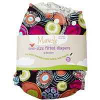 Kissaluvs Marvels Fitted Cloth Diaper - Snap - Dipsy Dots - One Size