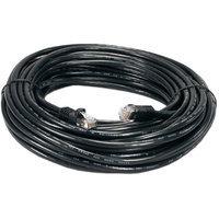 QVS CC715-200BK CAT6 Gigabit Flexible Molded Black Patch Cord, 200'