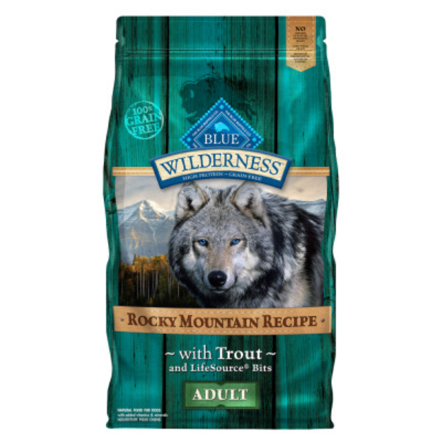 THE BLUE BUFFALO CO. BLUE™ Wilderness® Rocky Mountain Recipe™ Trout For Adult Dog Food
