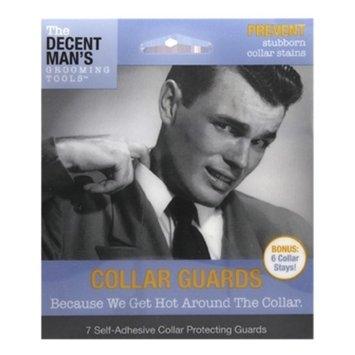 The Decent Man's Grooming Tools Collar Guards with Bonus Collar Stays