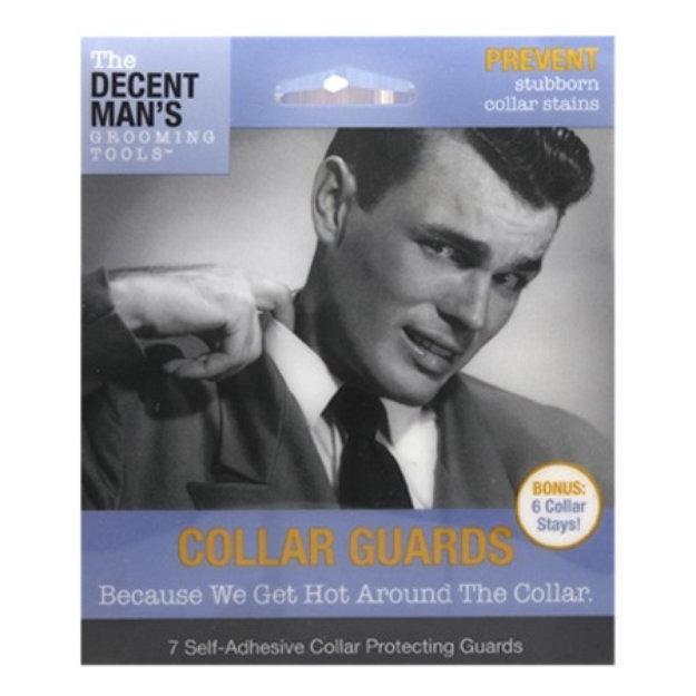 Slide: The Decent Man's Grooming Tools Collar Guards with Bonus Collar Stays