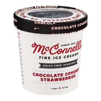 McConnell's Fine Ice Creams Chocolate Covered Strawberries