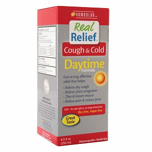 Homeolab Real Relief Cough & Cold Daytime Formula