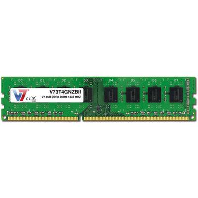 V7 4GB DDR3 1333MHz PC3-10600 DIMM Desktop Memory
