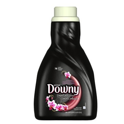 Downy Simple Pleasures Orchid Allure Liquid 78 Loads, 62.0-Ounce Bottles (Pack of 6)