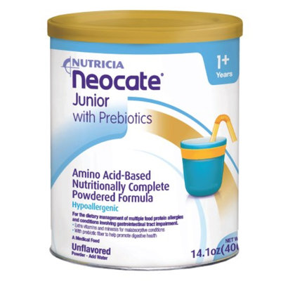 Nutricia Neocate Junior, Amino Acid Based Medical Food, Powder, Unflavored, 1+ Years, 14.1 oz