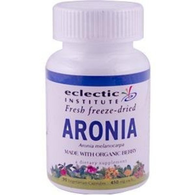 Eclectic Institute Aronia Berry Freeze-Dried, 450 mg, 90 VegCap, Great Antioxidant