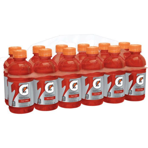 Gatorade Fruit Punch Sports Drink 12 fl oz 12 pk