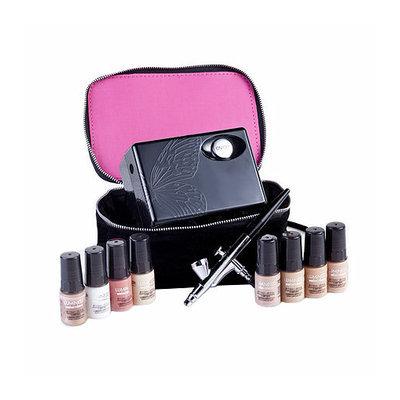 Luminess Air Premium Airbrush Cosmetics System Makeup Kit Medium