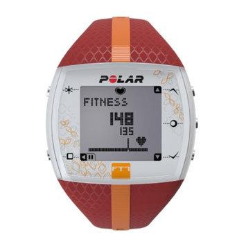 Polar FT7F Heart Rate Monitor, Red & Orange, 1 ea