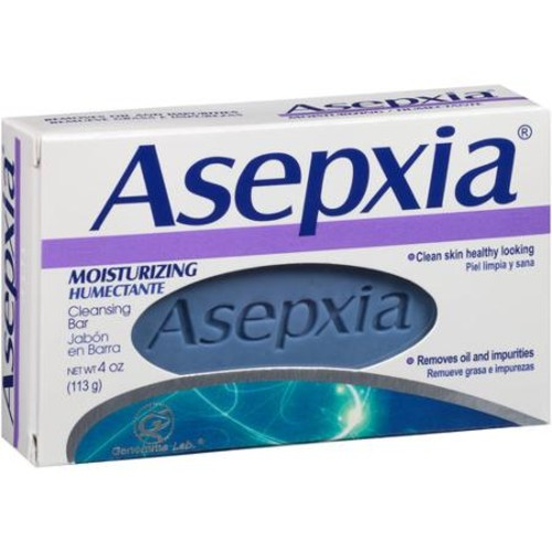 Asepxia Moisturizing Cleansing Bar, 4 oz