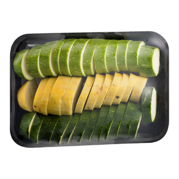 Lancaster Sliced Squash Medley with Yellow & Green Squash