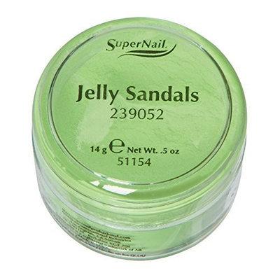Supernail Acrylic Powder, Jelly Sandals, 0.5 Ounce