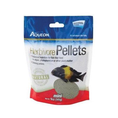 Aqueon 06185 Cichlid Herbivore Pellets, 5-Ounce